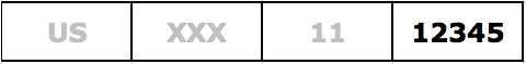 ISRC Designation Code